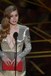 Amy Adams - 89th Annual Academy Awards in Hollywood 2/26/ 2017