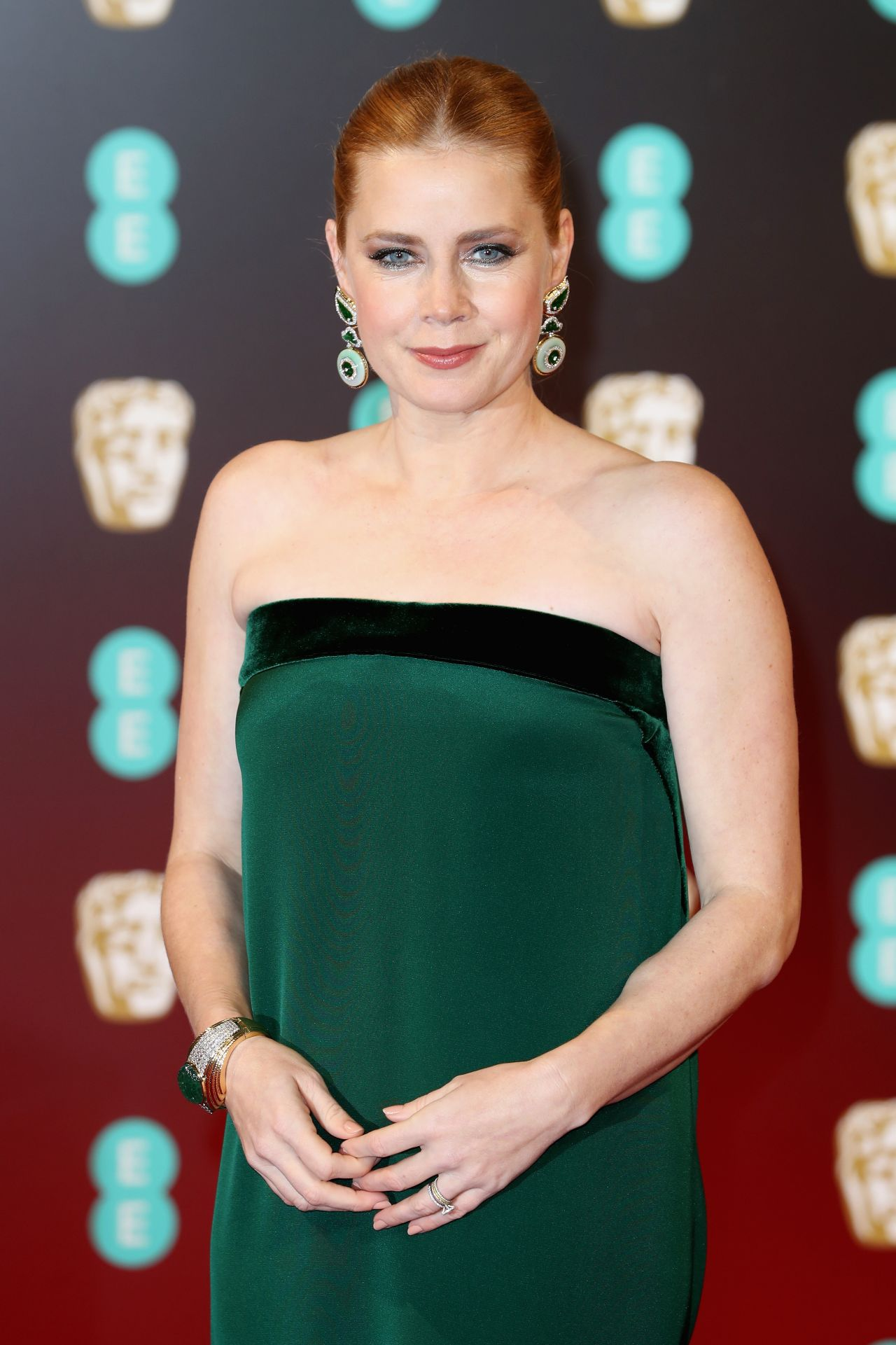 Amy Adams At Bafta Awards In London Uk 2 12 2017