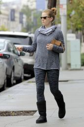 Amy Adams - Shopping for Clothes and Groceries in Los Angeles 2/7/ 2017