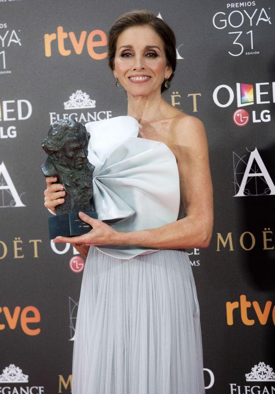 Ana Belén – Goya Awards in Madrid 02/06/ 2016