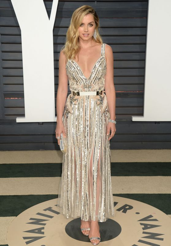 Ana De Armas at Vanity Fair Oscar 2017 Party in Los Angeles