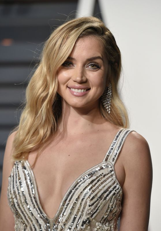 Ana De Armas at Vanity Fair Oscar 2017 Party in Los Angeles, Part II