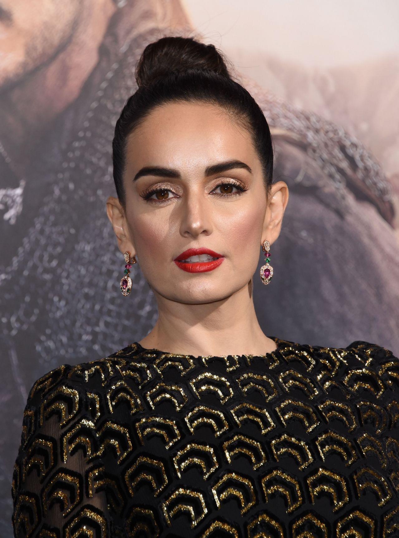 Ana De La Reguera - 'The Great Wall' Premiere in Hollywood ...