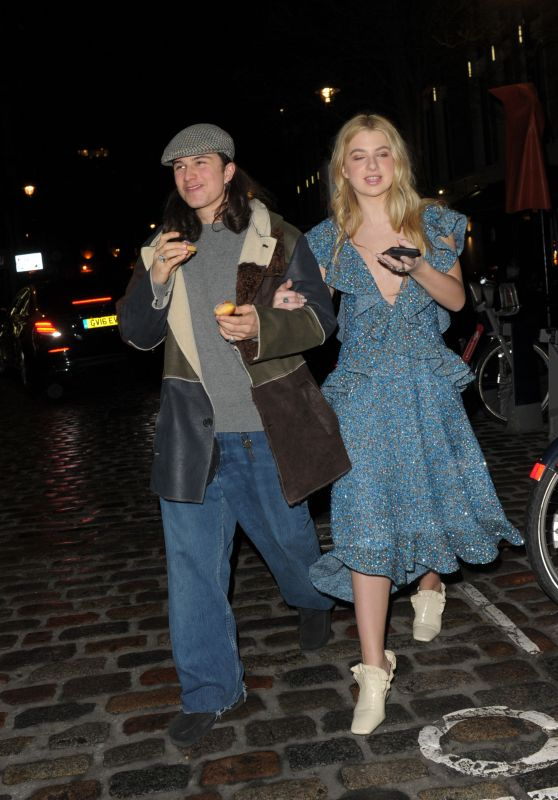 Anais Gallagher - Leaving the Mulberry Afterparty in London 2/19/ 2017