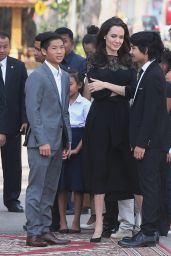 Angelina Jolie - Meeting the King of Cambodia - Siem Reap, Cambodia 2/18/ 2017