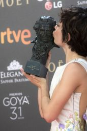 Anna Castillo – Goya Awards in Madrid 02/06/ 2016
