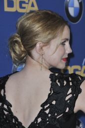 Anna Chlumsky – DGA Awards in Beverly Hills, CA 2/4/ 2017