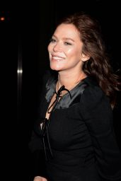 Anna Friel at The Ray Darcy, Dublin, Ireland 2/26/ 2017