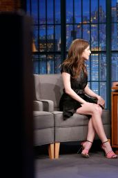 Anna Kendrick - Late Night With Seth Meyers 2/20/ 2017