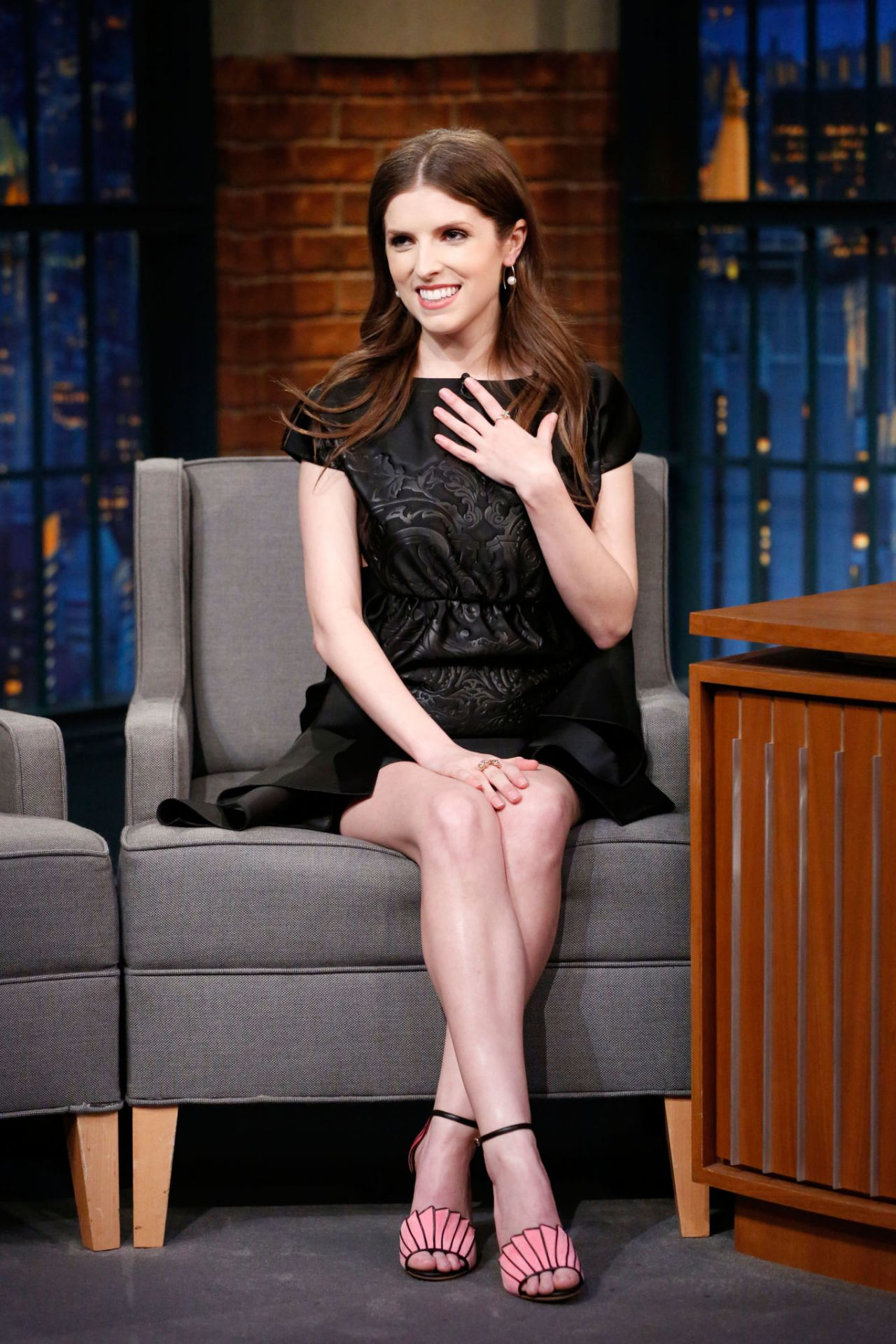 Anna Kendrick Late Night With Seth Meyers 2 20 2017