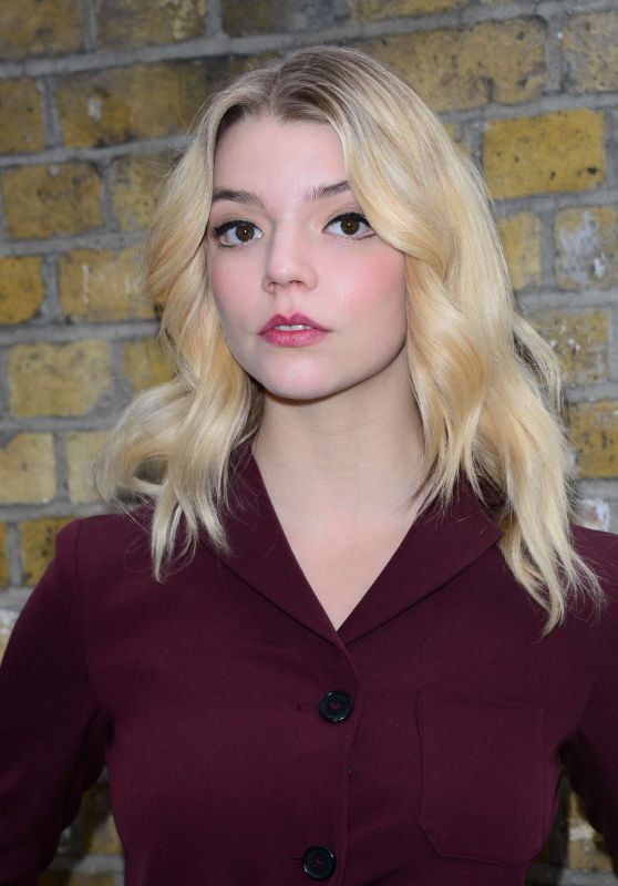 Anya Taylor-Joy at London Fashion - Mulberry Show 2/19/ 2017