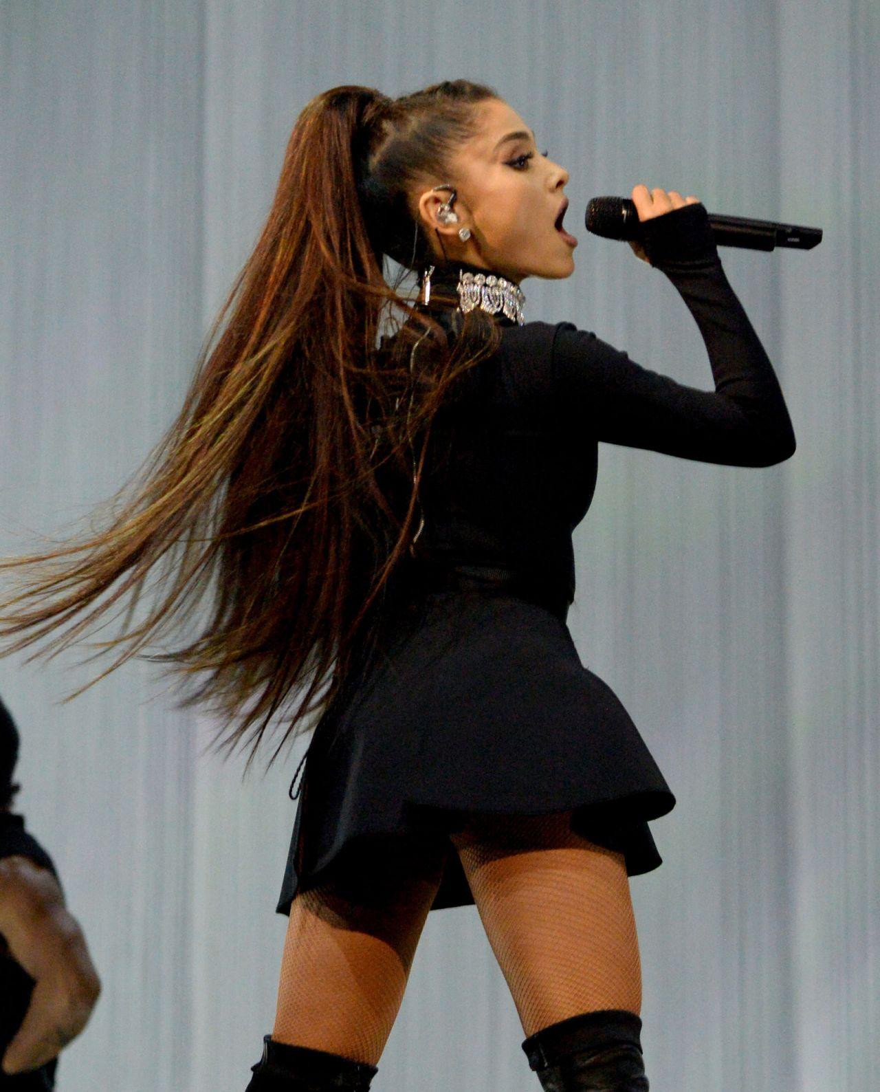 Ariana Grande Performs At Dangerous Woman Tour In
