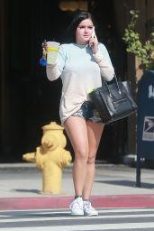 Ariel Winter in Jeans Shorts - Running Errands in Studio City 2/13/ 2017