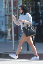 Ariel Winter in Jeans Shorts - Running Errands in Studio City 2/13/ 2017