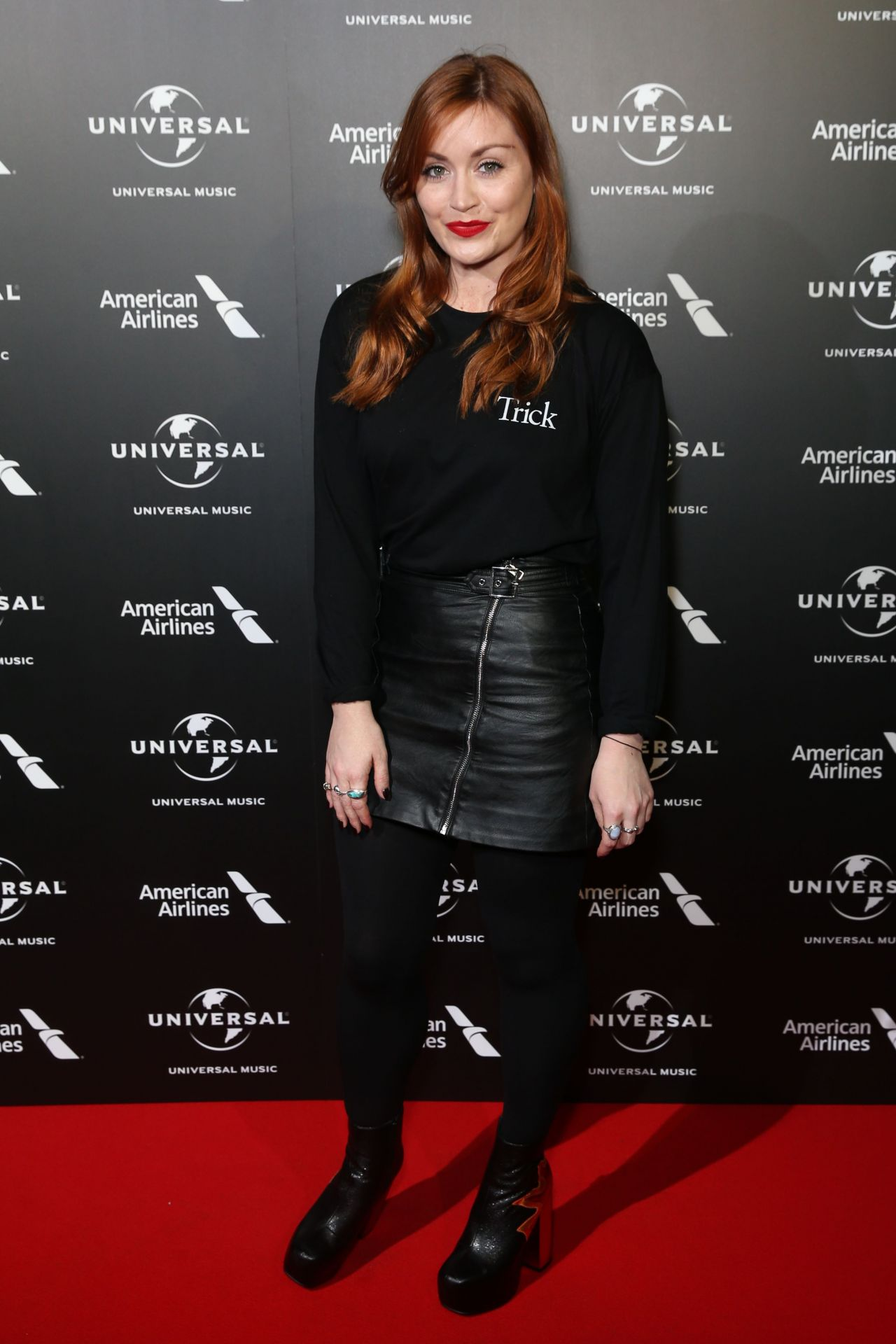 Arielle Free – BRIT Awards Universal Music Pre-Party in London 2/20/ 2017
