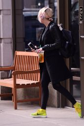 Ashley Benson - Going to Starbucks After a Boxing Workout Session 2/1/ 2017