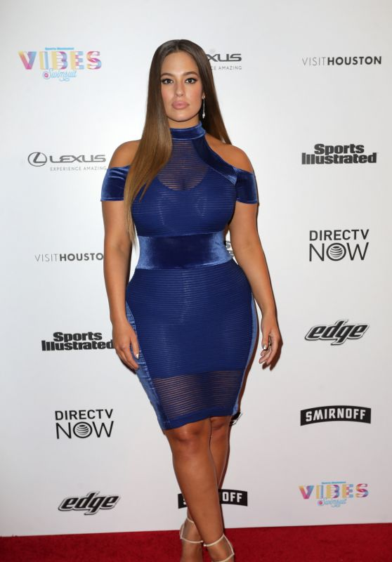 Ashley Graham – VIBES By SI Swimsuit 2017 Launch in Houston 2/17/ 2017
