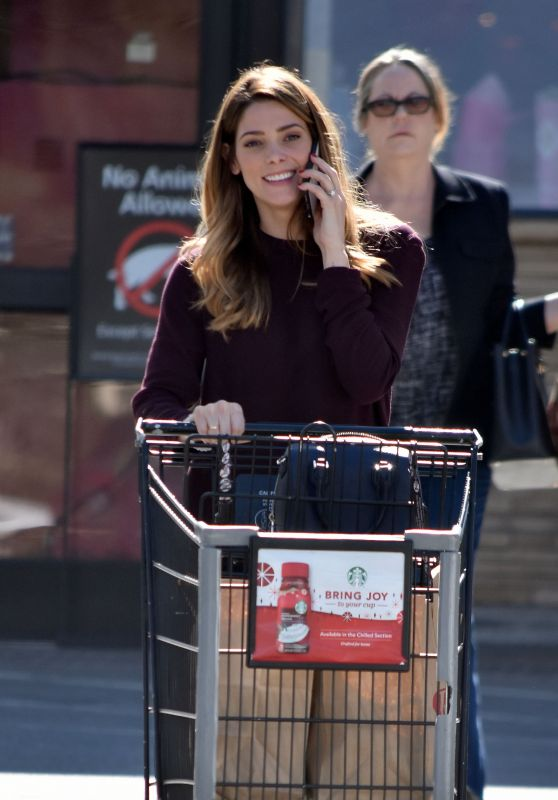 Ashley Greene - Grocery Shopping at Ralph