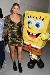 Ashley James - Sponge Bob Gold, The Strand, London, UK 2/18/ 2017