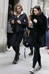 Ashley James Urban Style - Out in London 2/15/ 2017