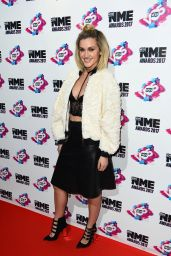 Ashley Roberts Attends NME Awards in London 2/15/ 2017