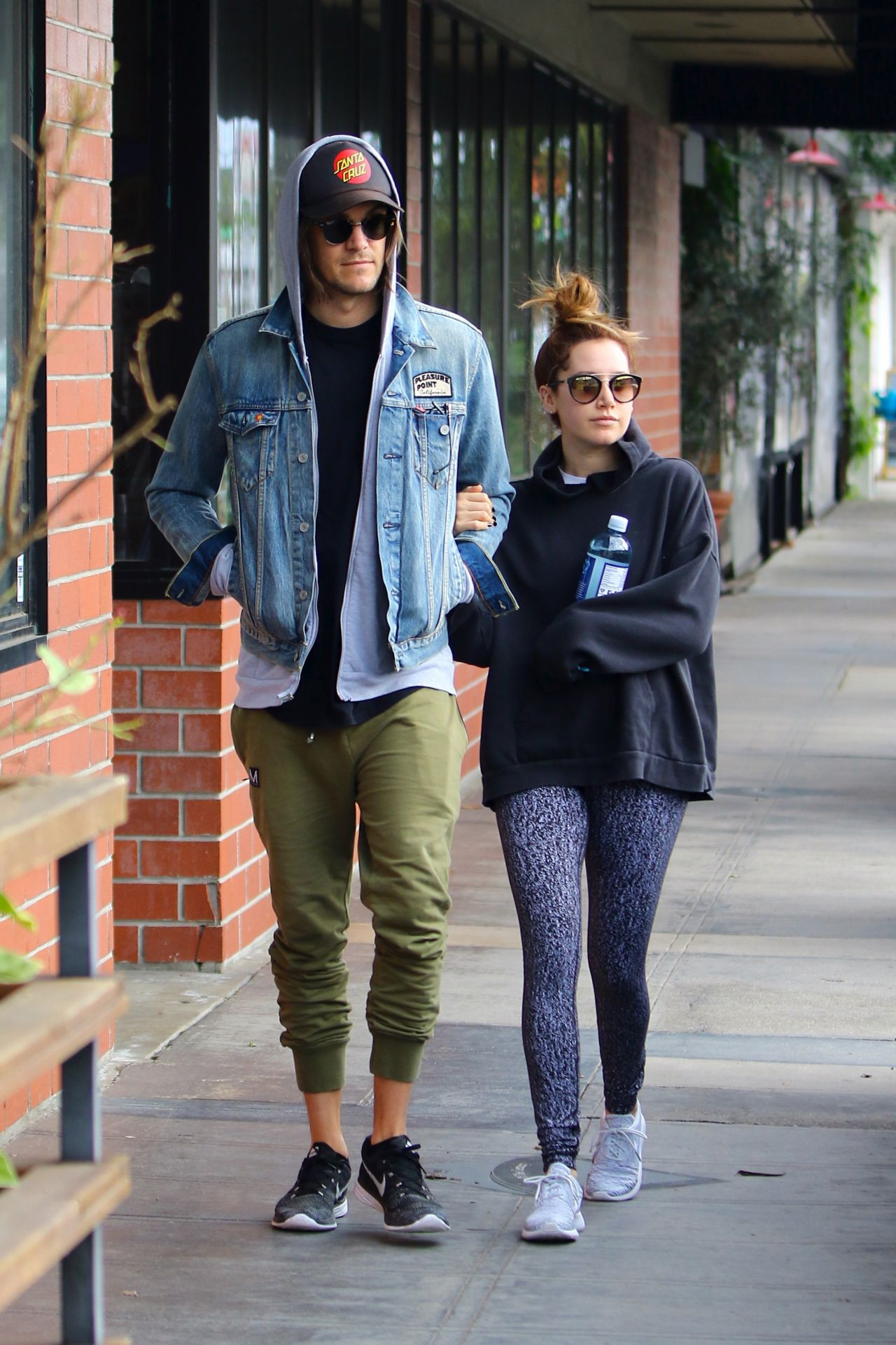 images Ashley tisdale with christopher french in la