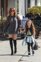 Ashley Tisdale - Outing With Niece in Los Angeles, CA 2/9/ 2017