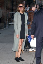 Aubrey Plaza - The Late Show With Stephen Colbert in New York 2/23/ 2017
