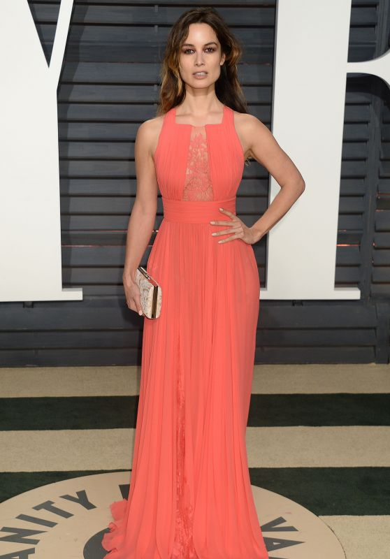 Bérénice Marlohe at Vanity Fair Oscar 2017 Party in Los Angeles