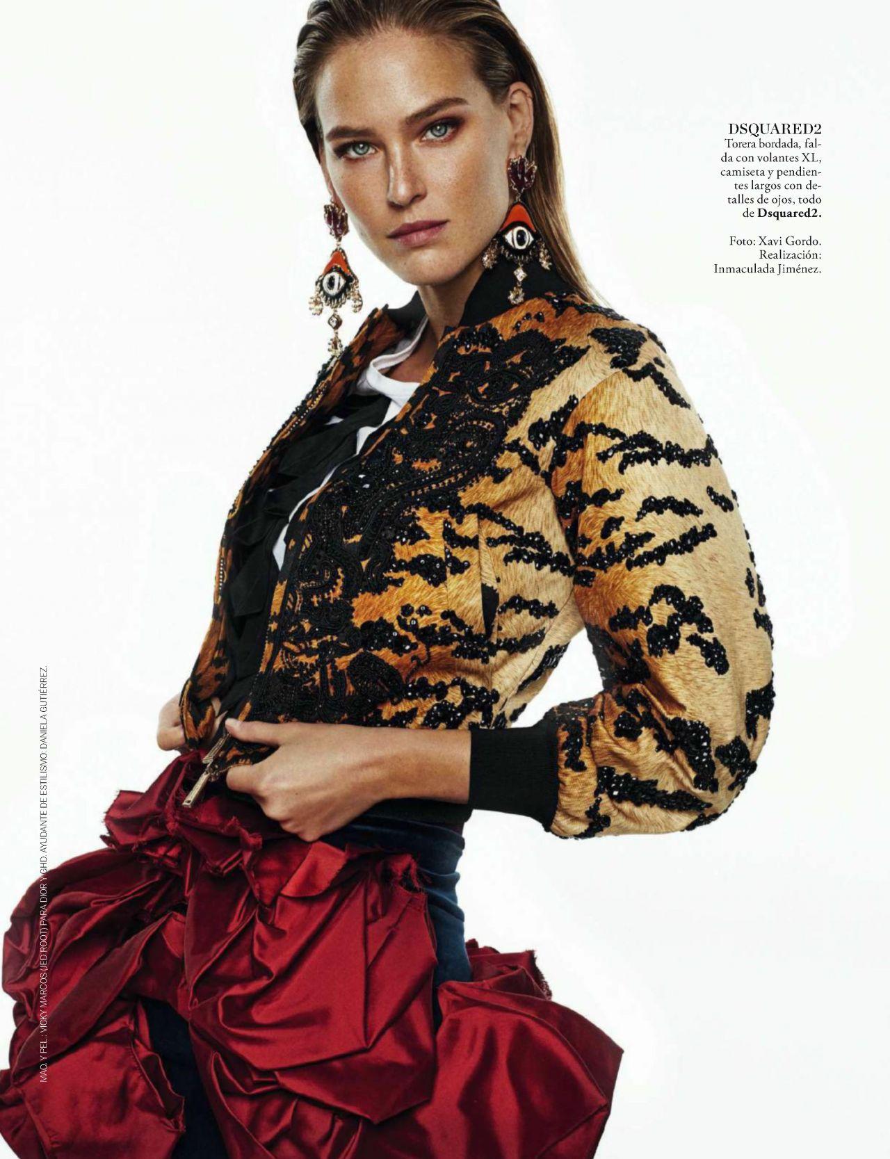 Bar Refaeli - Elle Magazine Spain March 2017 Issue Bar Refaeli