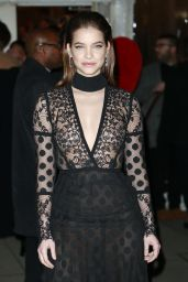 Barbara Palvin at amfAR New York Gala Red Carpet, 2/8/ 2017