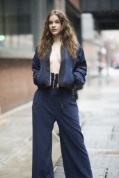 Barbara Palvin Style - Out in New York City 2/12/ 2017