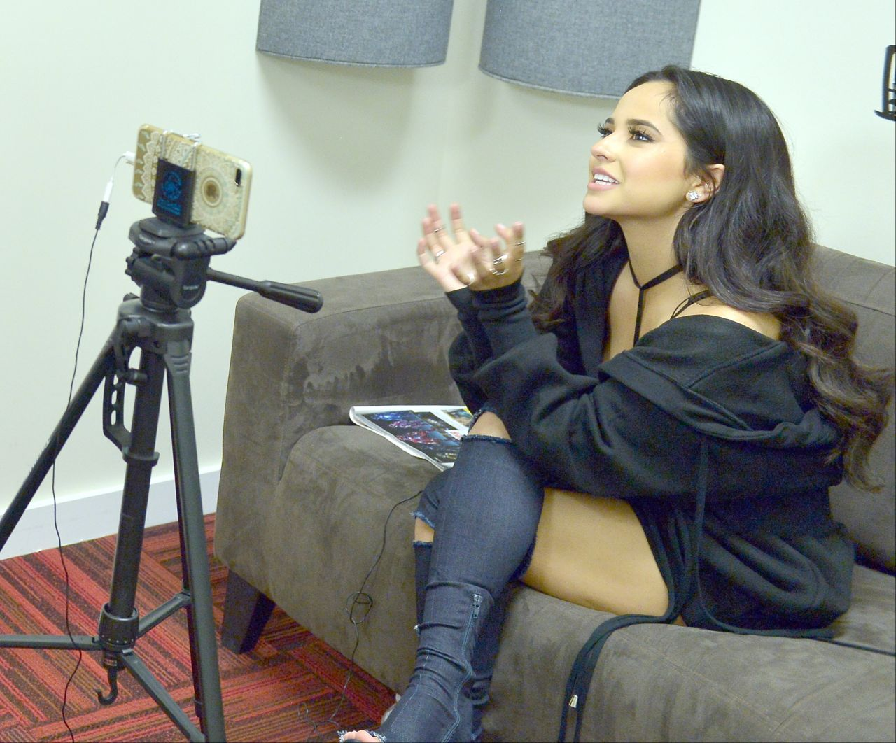 Becky G - Press Interview Promoting Her New Movie 'Power ... | 1280 x 1062 jpeg 189kB