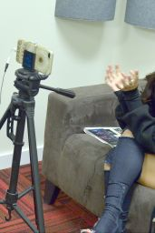 Becky G - Press Interview Promoting Her New Movie