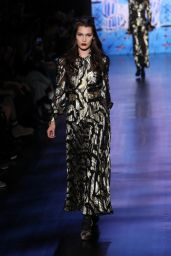 Bella Hadid - Anna Sui Runway at New York Fashion Week 2/15/ 2017