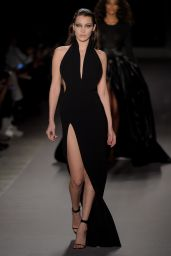 Bella Hadid - Brandon Maxwell Fall 2017 Show in NYC 2/14/ 2017