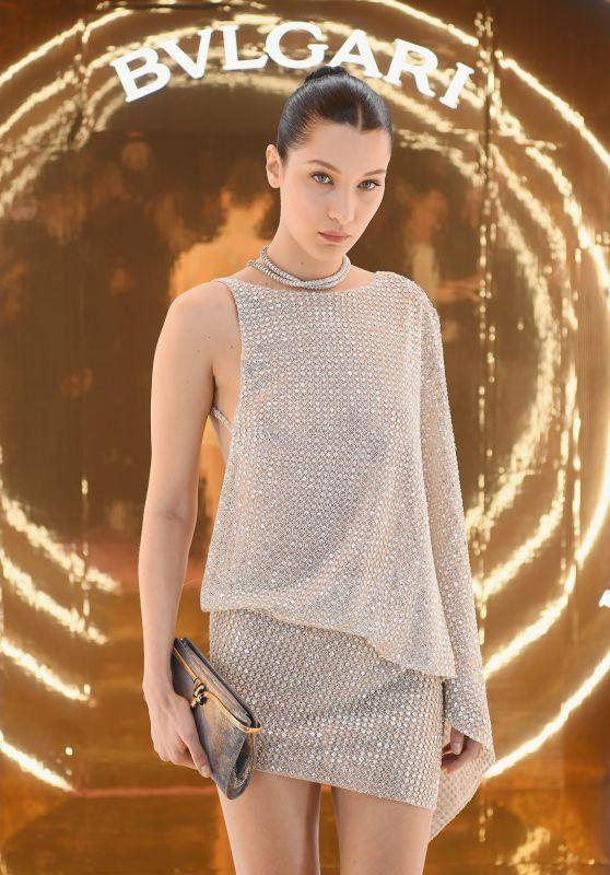Bella Hadid - BVLGARI Dinner Party at Milan Fashion Week 2/23/ 2017
