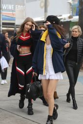 Bella Hadid & Gigi Hadid - Out in Los Angeles, CA 2/8/ 2017