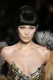 Bella Hadid Hit The Catwalk For Moschino - Milan Fashion Week 2/23/ 2017