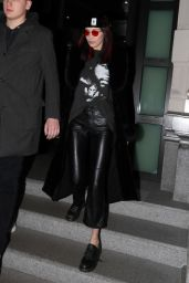 Bella Hadid - Leaving Her Hotel in Milan, Italy 2/25/ 2017