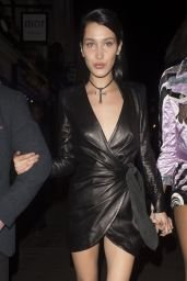 Bella Hadid - Leaving the Edition Hotel in London 2/20/ 2017