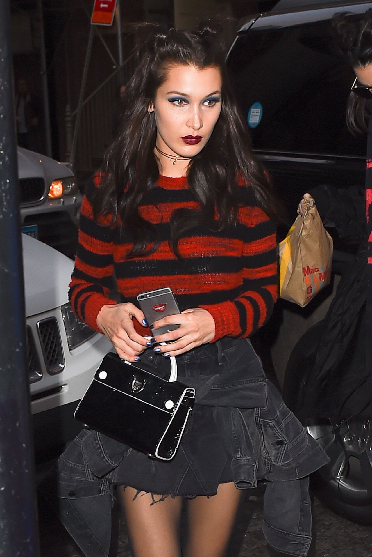 Bella Hadid Style - Arriving at the Mercer Hotel in New York City 2/15/ 2017