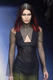 Bella Hadid Supermodel at Milan Fashion Week - Versace Show 2/24/ 2017