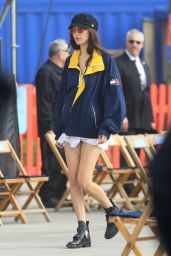 Bella Hadid – TommyLand Tommy Hilfiger Spring 2017 Fashion Show in Venice, CA 2/8/ 2017