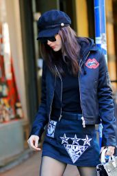Bella Hadid Urban Style - Out in Manhattan 2/4/ 2017