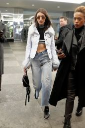 Bella Hadid Urban Style - Out in New York 02/12/ 2017