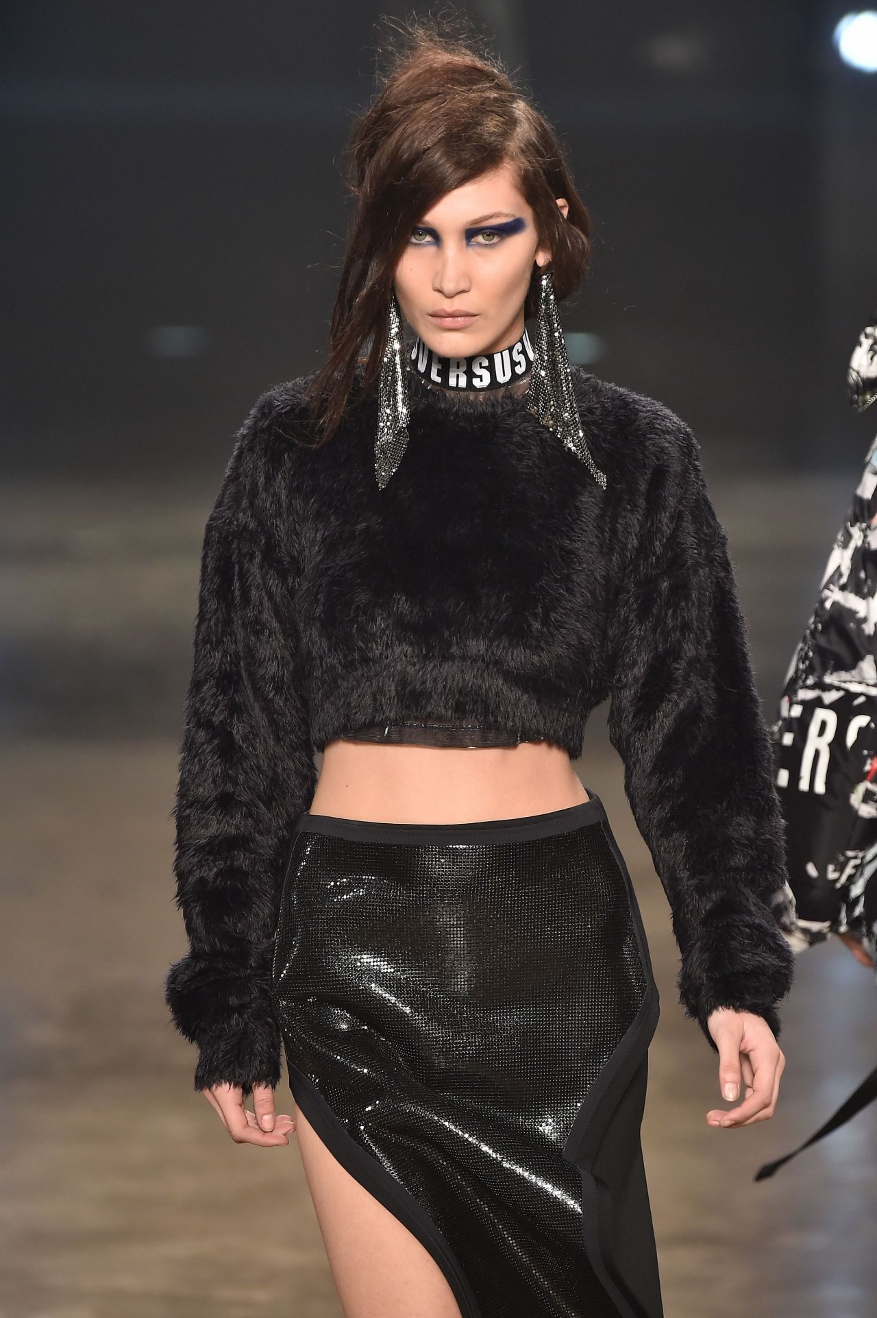 Bella Hadid - VERSUS Fashion Show at London Fashion Week 2/18/ 2017