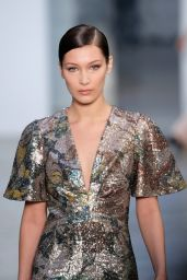 Bella Hadid Walk in Carolina Herrera Fall/Winter 2017  Show in NYC 2/13/ 2017