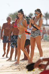 Bella Thorne Bikini Candids - Beach in Cancun 2/16/ 2017