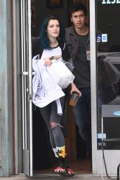 Bella Thorne - Having Lunch With a Mystery Guy in LA 2/5/ 2017